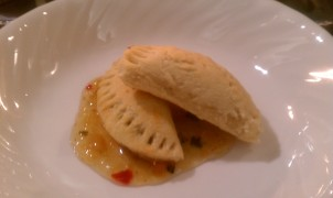 Texas Fusion Pasties With Charred Pineapple Habanero Sauce