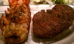 Traditional Surf and Turf