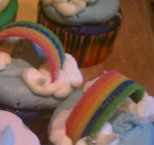 Rainbow Cuppies