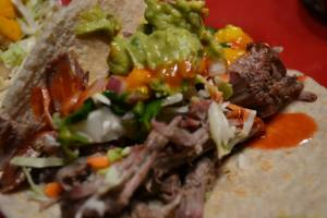 Citrus Marinated Pork Carnitas Tacos